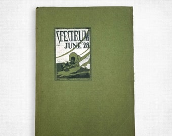 Jefferson High School [Portland, OR] Yearbook Spectrum, June 1928 Multnomah County