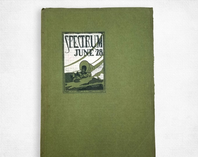 Jefferson High School [Portland, OR] Yearbook Spectrum, June 1928 Multnomah County