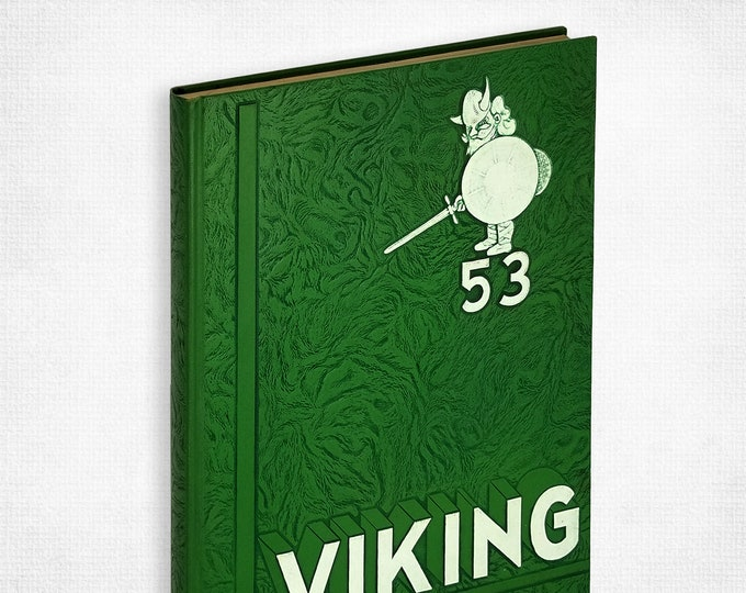 Portland State College [Oregon] 1953 Viking Yearbook Multnomah County