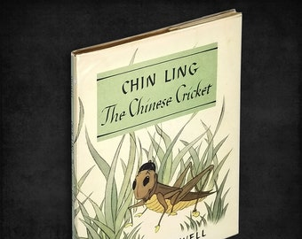 Children's Book: Chin Ling - The Chinese Cricket by Alison Stilwell SIGNED Hardcover in Dust Jacket 1981 Stilwell Studios