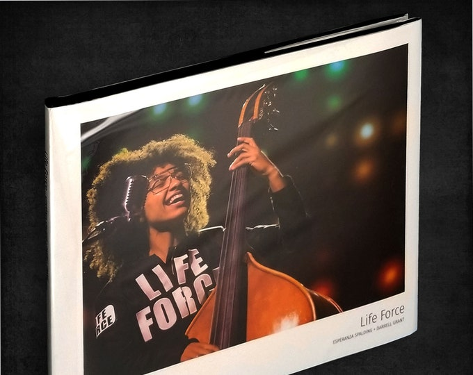 Life Force by Esperanza Spalding & Darrell Grant Hardcover in Dust Jacket 2018 Grammy Winner - Portland State University Event - Jazz