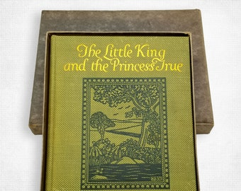 The Little King and the Princess True by Mary Earle Hardy illustrated by Milo K. Winter Hardcover in Original Box 1912 Rand McNally & Co