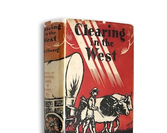 Clearing the West: My Own Story by Nellie L. McClung Hardcover w/ Dust Jacket 1936 Manitoba Canada Pioneer
