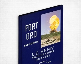 Fort Ord, California. U.S. Army Infantry Training Center - Company B, 1st Battalion, 1st Brigade (May-Jun, 1967)