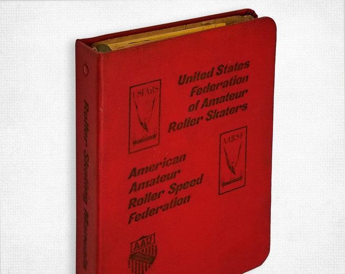 Roller Skating Manuals (USFARS) 1970s Set of Booklets + Binder - Amateur Roller Dancing