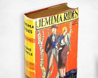 Vintage Romance Fiction: Jemima Rides by Anne Hepple Hardcover in Dust Jacket ca. 1935 Hutchinson London