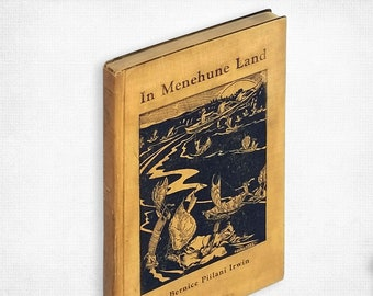 Hawaiian Fairy/Folk Tales: In Menehune Land by Bernice Piilani Irwin illustrated by J.M. Fraser Hardcover 1937 Honolulu