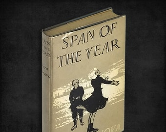 Vintage Russian Fiction: Span of the Year by Vera Panova 1st UK Edition Hardcover in Dust Jacket 1957 Harvill Press