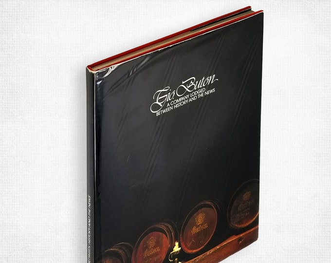 Gio. Buton: A Company Lodged Between History and the News Hardcover in Dust Jacket Italian Distillery History