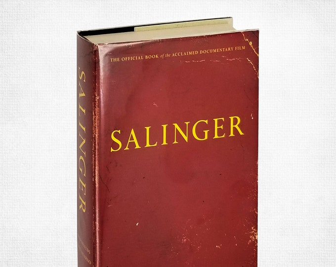 Author Biography: Salinger by David Shields SIGNED 1st Edition Hardcover w/ Dust Jacket 2013 Simon & Schuster