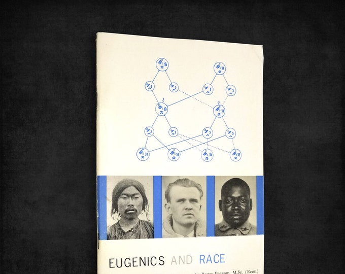 Vintage Genetics Booklet: Eugenics and Race by Roger Pearson 1966 Noontide Press