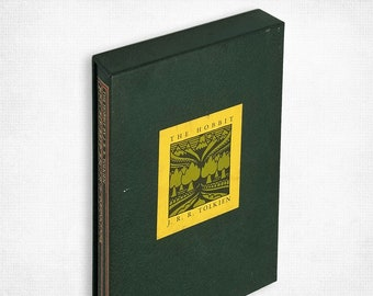 The Hobbit or There and Back Again by J.R.R. Tolkien Hardcover w/ Slipcase 1966 Houghton Mifflin Company