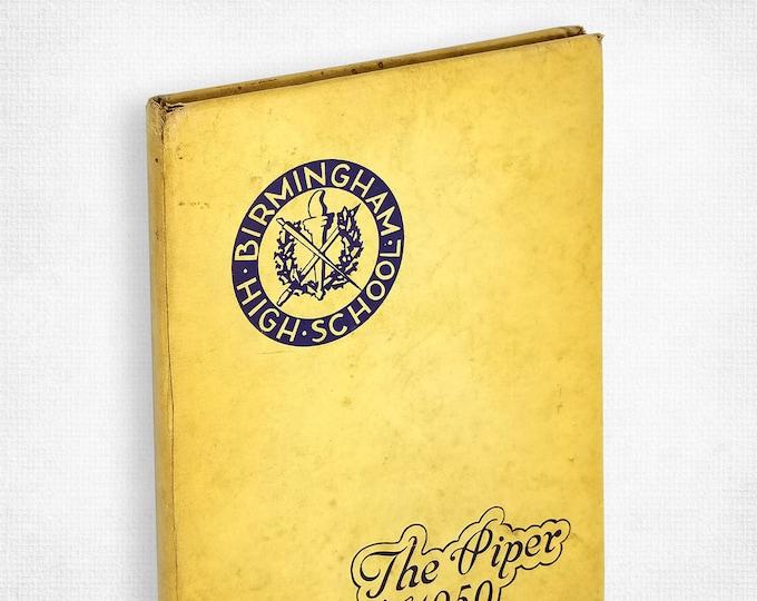 Birmingham High School [Michigan] Yearbook 1950 The Piper