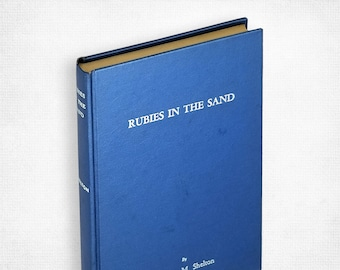 Rubies in the Sand by Herbert M. Shelton 1st Edition Hardcover 1961 naturopathy, alternative medicine