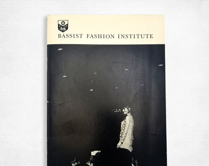 Bassist Fashion Institute [Portland, Oregon] promotional brochure 1969 Trade School