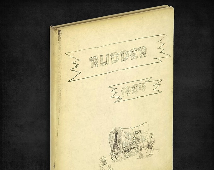 Dwight Township High School [Illinois] 1954 Rudder Yearbook Grundy County IL