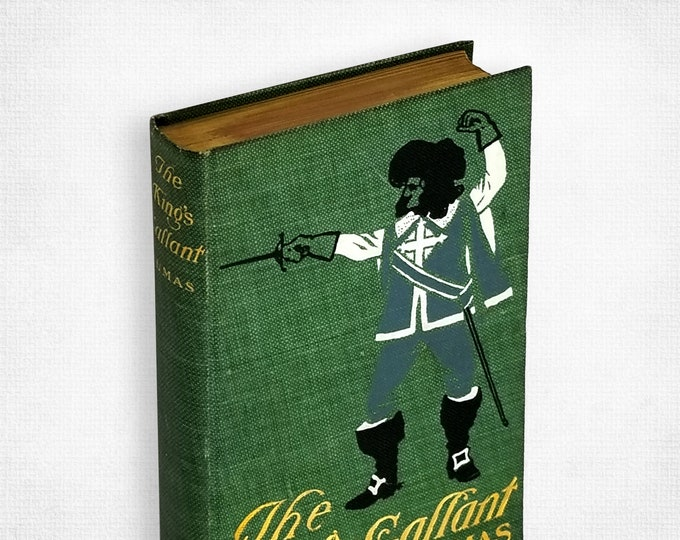 Antique Fiction: The King's Gallant or King Henry III. and His Court by Alexandre Dumas 1902 Hardcover Street & Smith