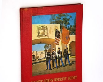 Marine Corps Recruit Depot Third Battalion Platoon 3093 [1972], San Diego, California