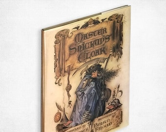 Children's: Master Snickup's Cloak by Alexander Theroux illustrated by Brian Froud 1st US Edition Hardcover in Dust Jacket 1979 Harper & Row