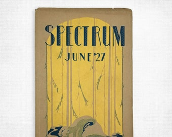 Jefferson High School [Portland, OR] Yearbook Spectrum, June 1927 Multnomah County