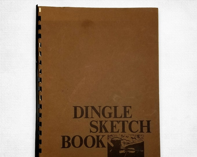 Dingle Sketch Book by Tom Roche 1976 Ireland Art