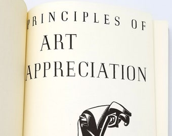 Principles of Art Appreciation 1970 (Reprint) by Stephen C. Pepper - philosophy, aesthetics, design