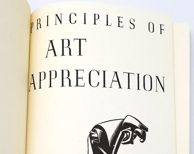 Principles of Art Appreciation 1970 (Reprint) by Stephen C. Pepper - philosophy, aesthetics, design