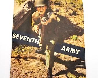 Seventh Army Twentieth Anniversary 1943-1963 Celebration Brochure - United States Military