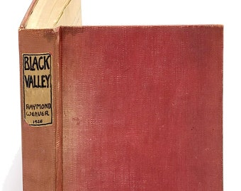 Black Valley SIGNED Galley Proofs Raymond WEAVER 1926 Japan Novel