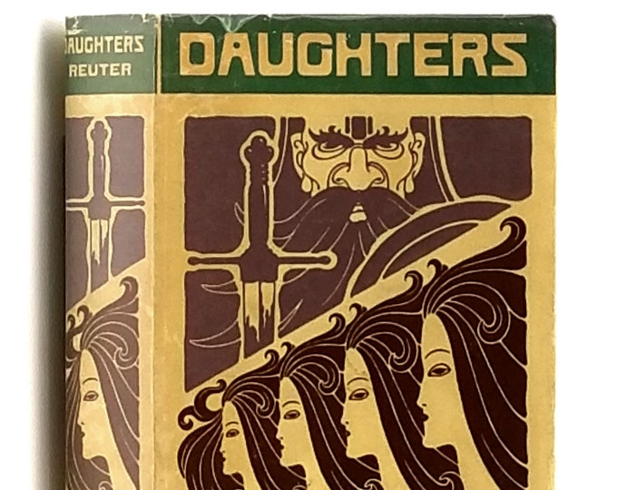 Daughters: the Story of Two Generations 1st Edition in Dust Jacket 1930 by Gabriele Reuter - Berlin - Women