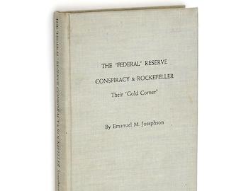 Federal Reserve Conspiracy & Rockefeller 1968 by Emmanuel JOSEPHSON ~ Gold Standard ~ IMF ~ NWO