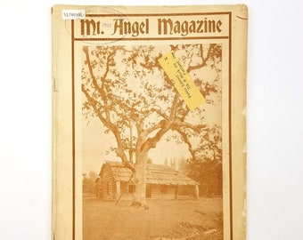 Mt. Angel Magazine (Vol. XVI, No. 1, October 1914) Benedictine - Oregon - Catholic - Seminary - Abbey - College