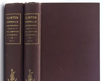 Campaign in Virginia Reprint of Six rare Pamphlets Clinton Cornwallis Controversy 1888 History United States American Revolutionary War