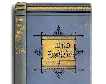 David and Anna Matson 1st Edition 1876 by Abigail Scott Duniway - Oregon Authors - Epic Poem