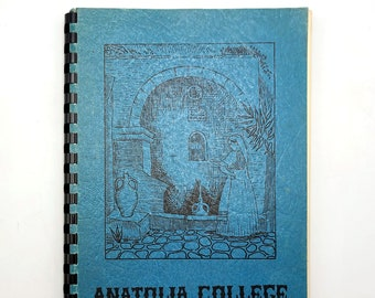 Anatolia College Cook Book ca. 1940s  Thessaloniki - Greece - Cookbook - Recipes - Greek