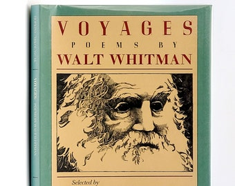 Voyages: Poems by Walt Whitman SIGNED 1st Edition in Dust Jacket 1988 Walt Whitman; (selected by) Lee Bennett Hopkins - American Poetry