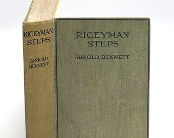 Riceyman Steps SIGNED 1923 ARNOLD BENNETT London Novel Fiction Book Seller