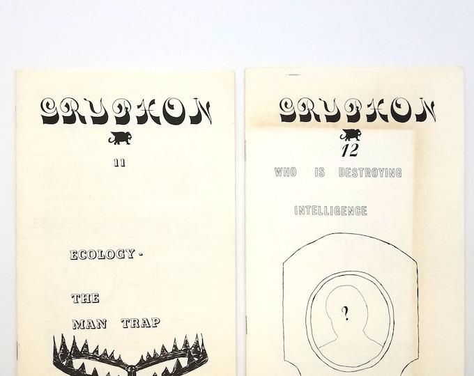 Gryphon Journal (issues 11 & 12) 1977 Ayn Rand - Objectivism - Robert Villegas - Zine