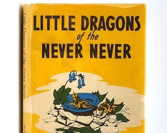 Little Dragons of the Never Never in Dust Jacket 1954 by Ella McFadyen illustrated by Edwina Bell - Australian Animal Story - Horned Lizard