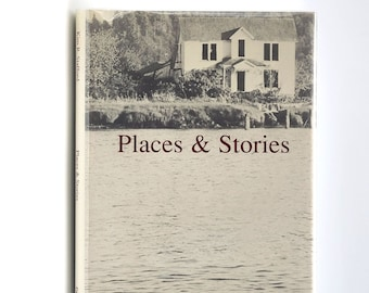 Places & Stories SIGNED 1st Edition in Dust Jacket 1987 by Kim Stafford - Oregon Poet Laureate - Oregon Author