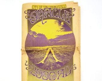 The City of San Francisco Oracle (Vol. 1, No. 12, 1968)  Psychedelic Underground Newspaper - LSD - Esalen - Counterculture
