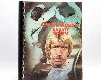 The Chuck Norris Karate System by CHUCK NORRIS 1973 First Edition (3rd Printing)