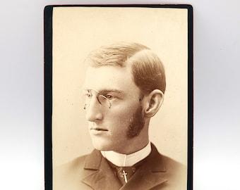 Cabinet Card Conway MacMillan (1867-1929) American botanist, University of Minnesota