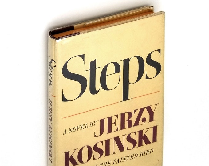 Steps SIGNED 1st Edition in Dust Jacket 1968 by Jerzy Kosinski - National Book Award - Inscribed to Ambassador to Poland