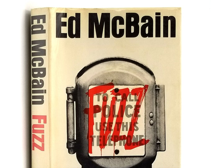 Fuzz: an 87th Precinct mystery 1st Edition in Dust Jacket 1968 by Ed McBain - Review Copy
