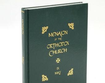 Menaion of the Orthodox Church - Vol IX May Eastern Orthodoxy Liturgics Liturgy