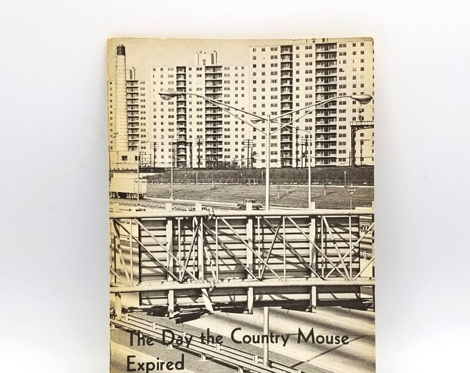 The Day the Country Mouse Expired 1964 by Stephen Rose - Urban Studies, Renewal - Cities - Christian Missions