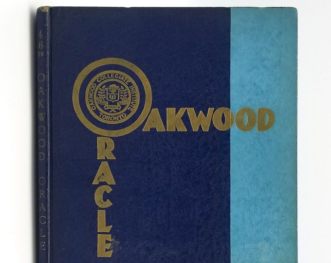 Oakwood Collegiate Institute [Toronto] Yearbook 1963 Oakwood Oracle Canada