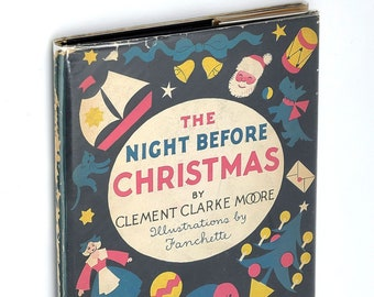Night Before Chirstmas 1935 illustrated by Fanchette (pseud. Lucinda Wakefield)