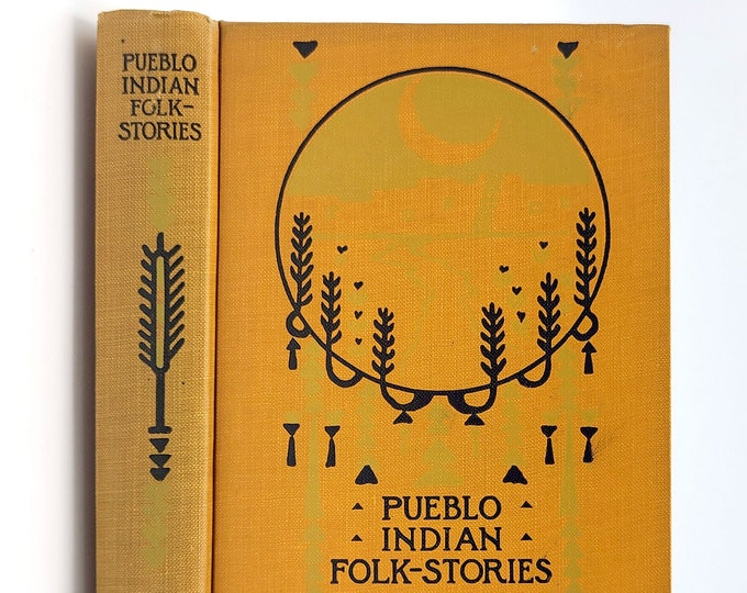 Pueblo Indian Folk-Stories 1910 by Charles F. Lummis illustrated by George Wharton Edwards - American Indian - Native American Legends
